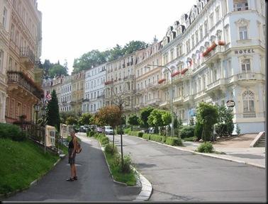 Karlovy Vary - CZ - street view