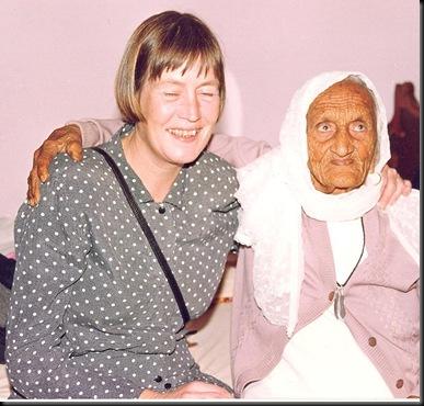 Bryllup - familens eldste og Anna