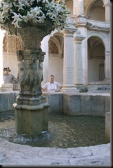 Oaxaca - kloster inside