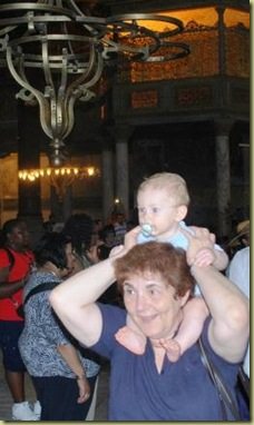 Zeynep and ML in Haghia Sophia