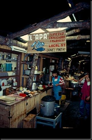 Puerto Montt - restaurantkjøkken