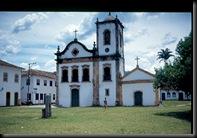 Paraty - kirken ved havnen
