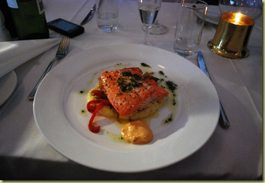 OsloBG - Dinner at Lille Herbern - Trout