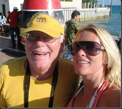 Papa and Ingelin Key West