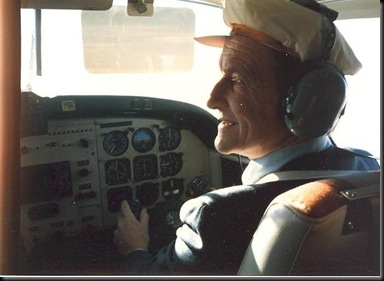 Erik W som pilot