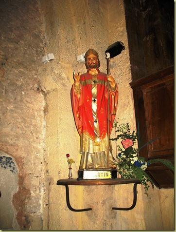 Evenos Church dedicated St Martin
