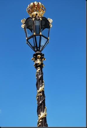 Lyktestolpe - Place Stanislas - Nancy - Frankrike