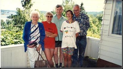 Åros 1997 - med Marie