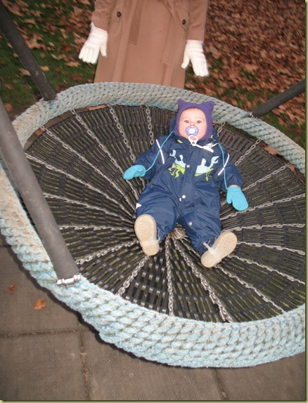 M L loves this swing