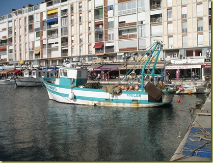 Toulon Harbour 3329 Local Fisking Vessel