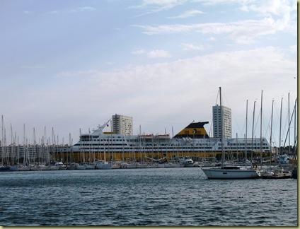 Toulon Harbour 3330 Corsica Ferry