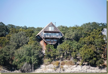 Lake Trvis - Diamond shaped house