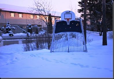 Empty Playground - Snow you know