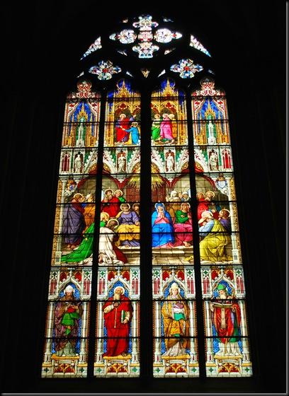 Glassmaleri Kölner domen