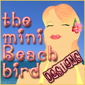 the mini Beach bird Designs