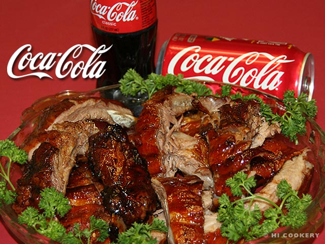 Coca-Cola Glazed Baby Back Ribs | HI COOKERY