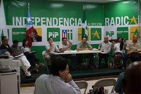 Comisión Evaluadora en Vista Pública en San Juan