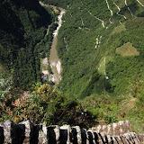 Crazy steps on Wayna Picchu
