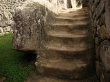 Steps of solid stone