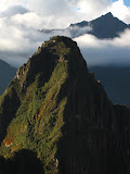 Wayna Picchu, how does the trail get up there?