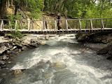 Bridge over the river Los Perros