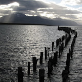 Old wharf, Puerto Natales