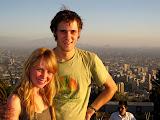 On top of Santiago, Cerro San Christobal