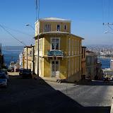 View on Cerro Alegre