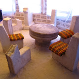 Salt hotel. Yes, its made of salt
