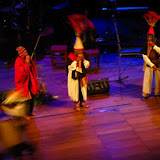 Folk dancers at the Teatro Municipal