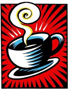 Burton Morris / Coffee Cup / 2000