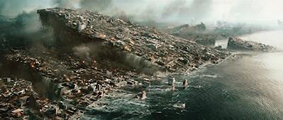 2012 de Roland Emmerich: Los Angeles se scufundă în mare.