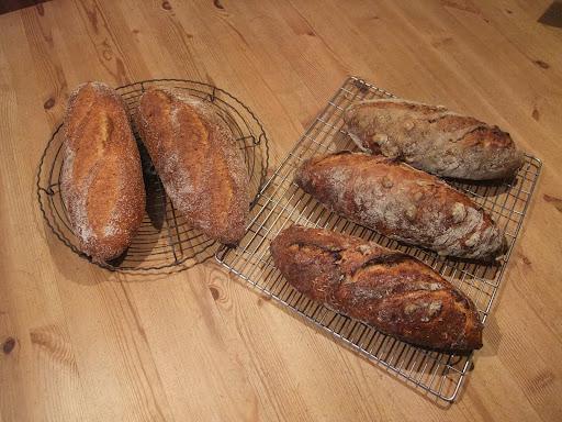 Swiss nut bread
