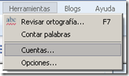 windows live writter cuentas