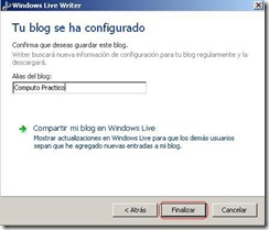 windows live writter Alias de blog