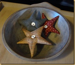 bowl with stars
