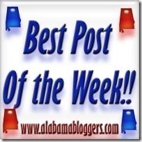 Alabamas bloggers BestPostOfTheWeek copy