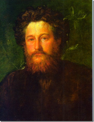 William Morris 1870 pintado por George Frederic Watts