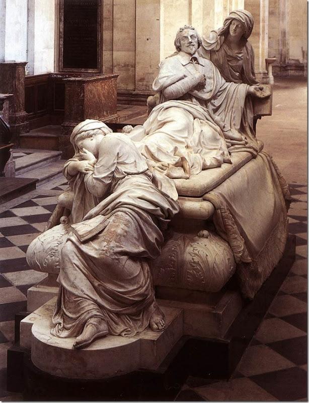 GIRARDON TUMBA DE RICHELIEU 1694