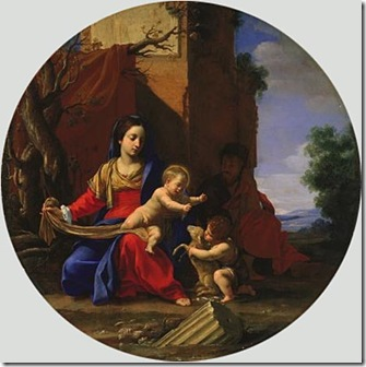 VOUET SAGRADA FAMILIA CON SAN JUAN BAUTISTA 1626
