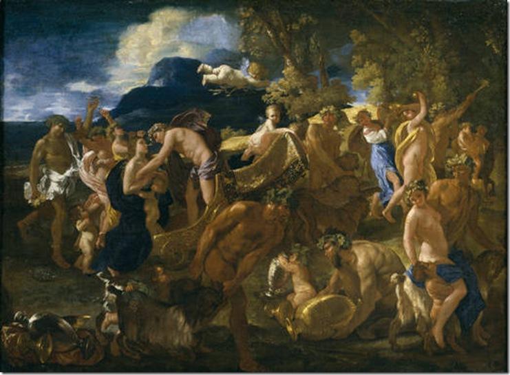 POUSSIN BACCHANALIA 1629