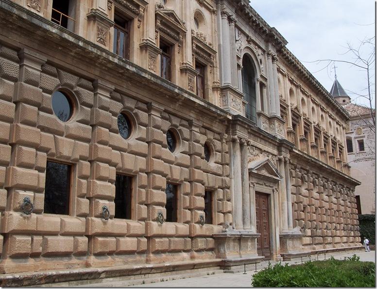 Granada_Alhambra_Palacio_Carlos_V_Exterior
