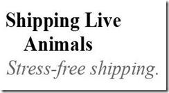 shipping live animal