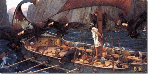 waterhouse - odyseusz i syreny 1891