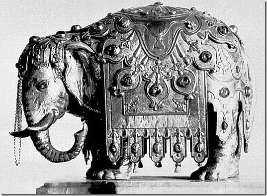 dinglinger - słoń