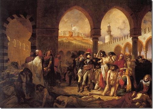gros - bonaparte w jaffie 1804