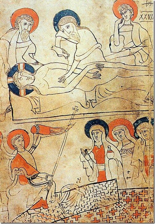 węgierski manuskrypt z całunem