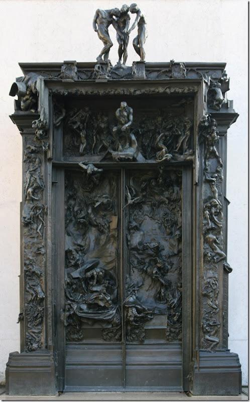 rodin - brama piekieł z musee rodin