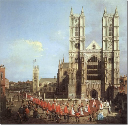 canaletto - westminster 1749