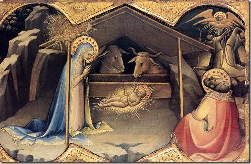 lorenzo monaco - narodziny dzieciątka